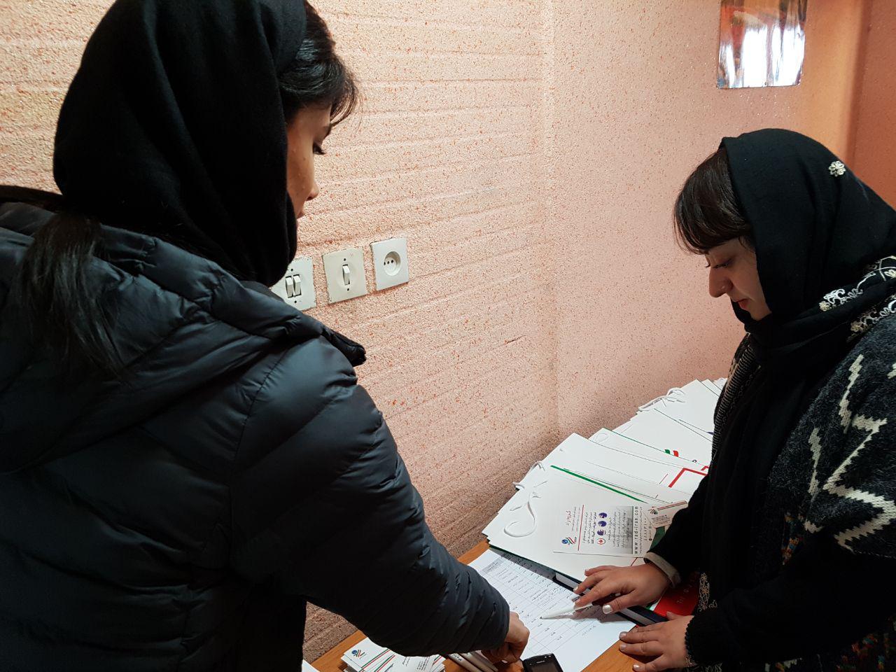 جلسه پرسش و پاسخ در موسسه زبان بهار شیراز