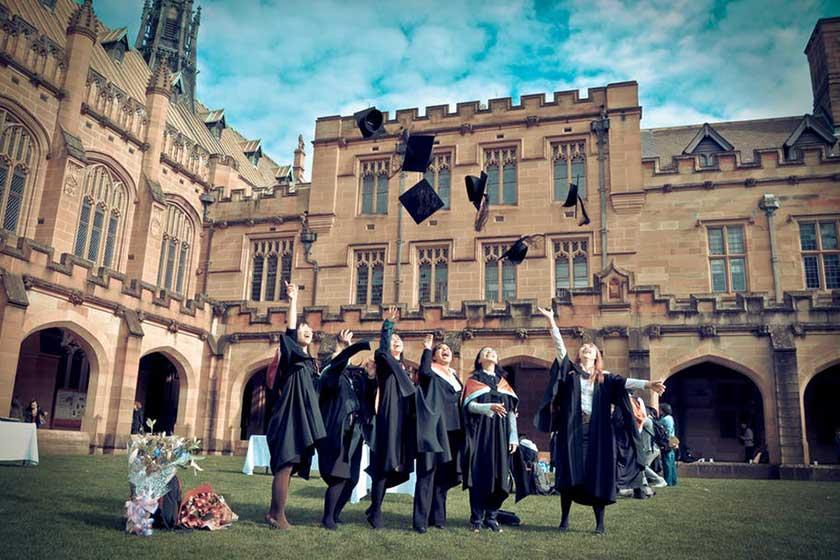 نتیجه تصویری برای شرایط پذیرش دانشگاه های استرالیا در مقطع کارشناسی ارشد