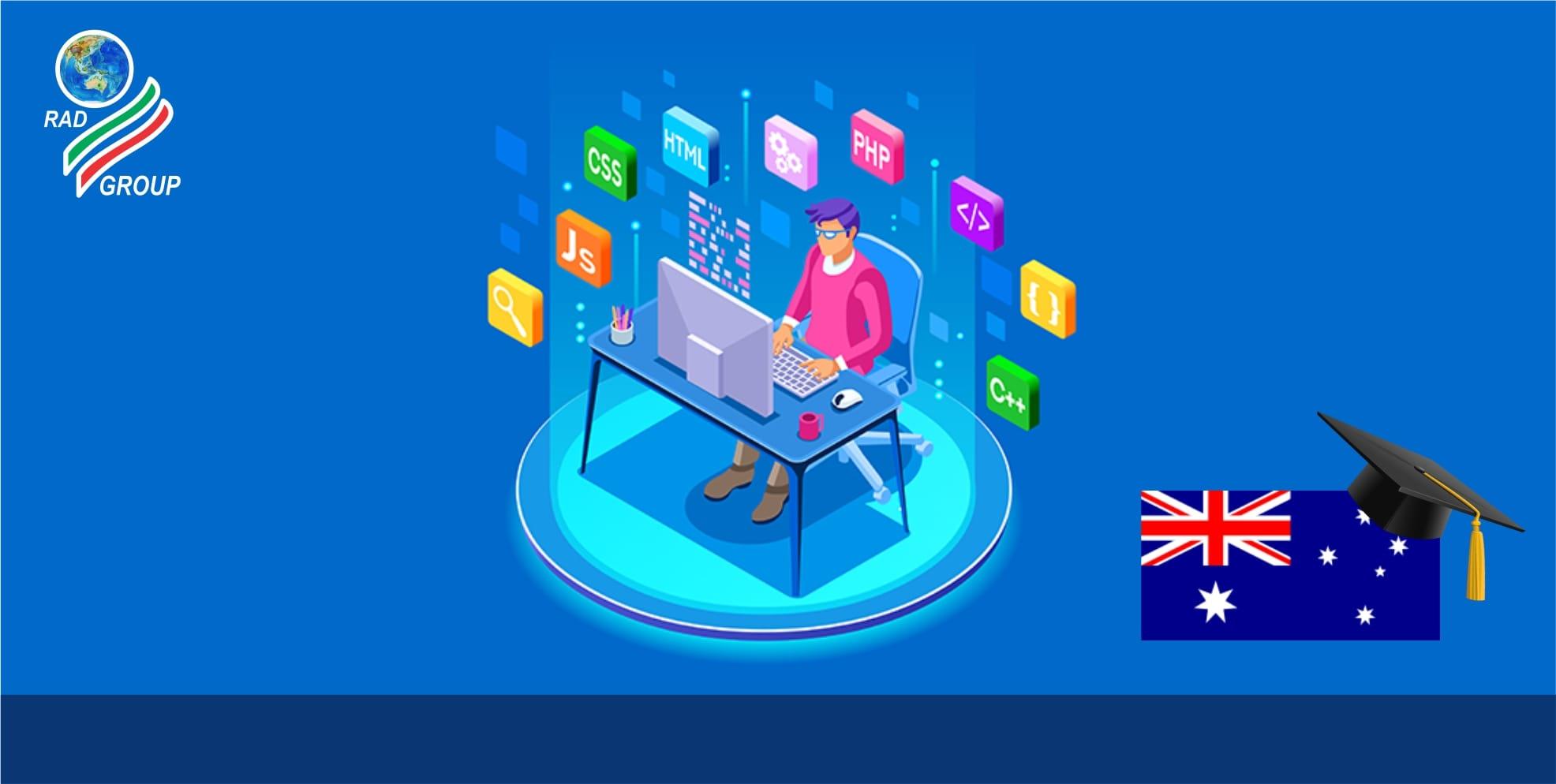 رشته توسعه وب در استرالیا-min